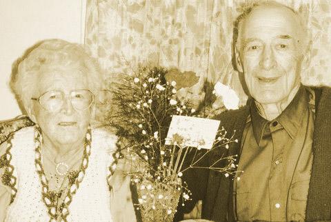 Bernard and Lola Goekoop photo