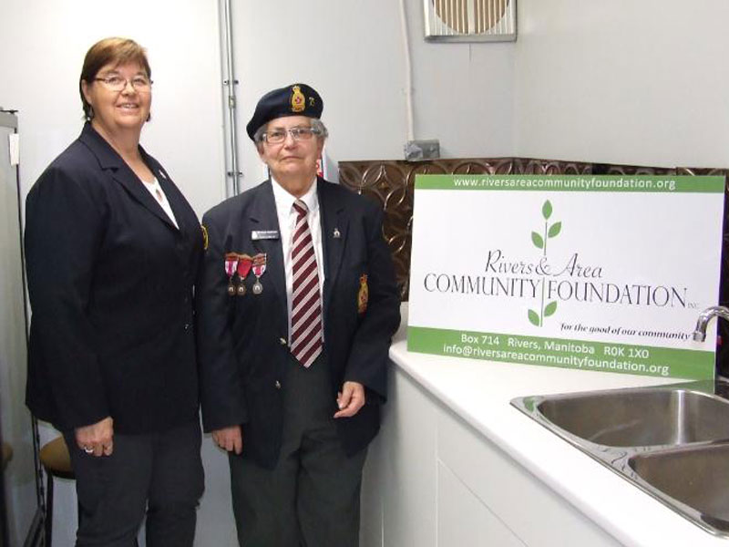 New cupboards at the Royal Canadian Legion Branch #75