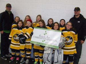 Rivers Female Jets Hockey Team - Team Photo