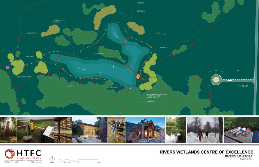 Rivers Wetlands Centre of Excellence site plan