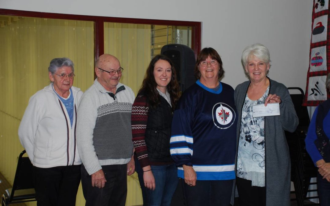 1st Grant Presented from the Bill and Helen Sibbald Legacy Fund
