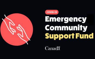 Emergency Community Support Fund Phase One Funding